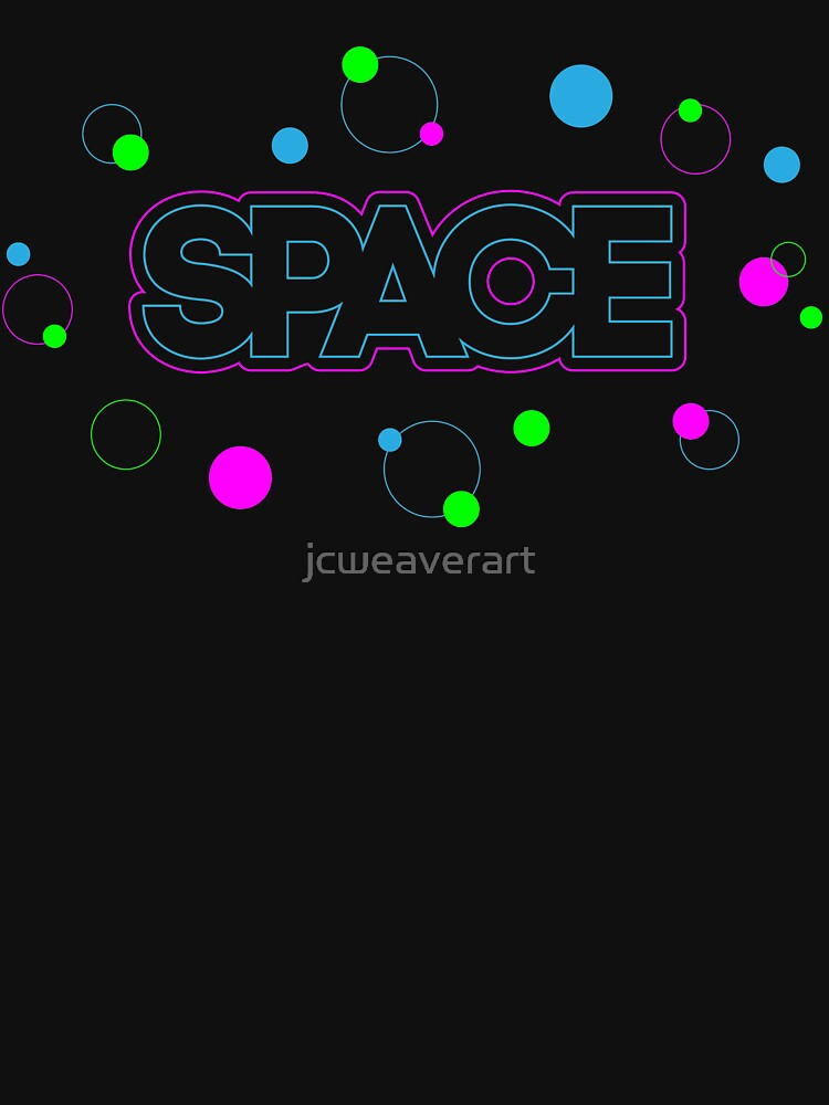 Abstract Retro Space Shapes  by jcweaverart