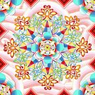 Cosmic Waves Kimono by PatriciaSheaArt