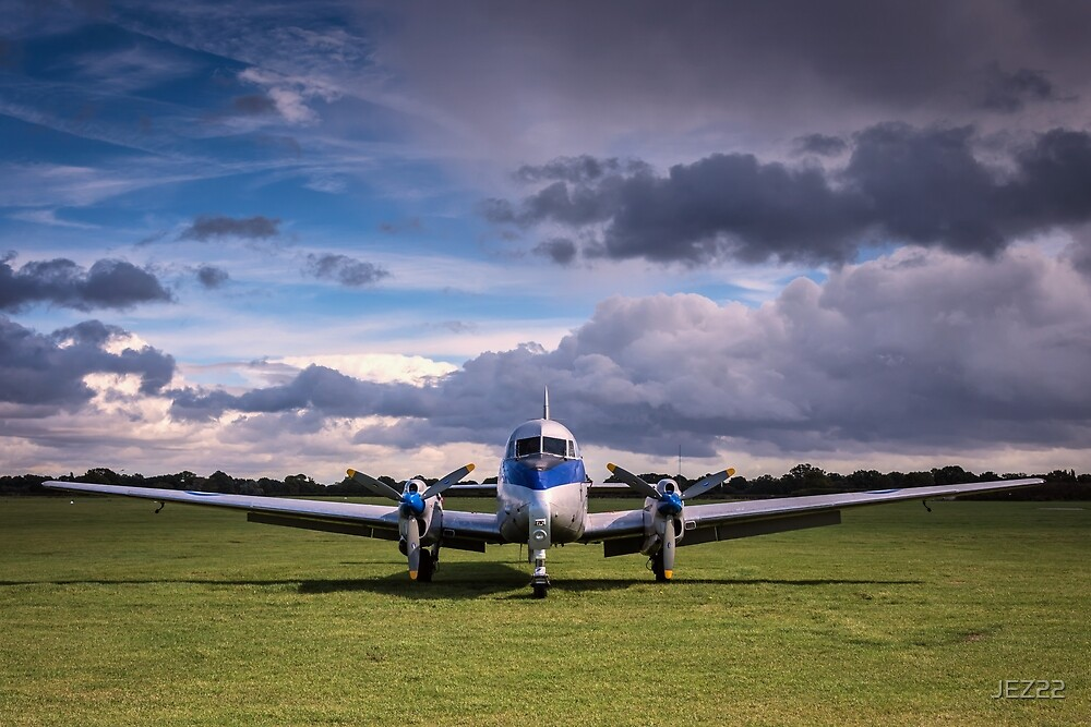 de Havilland Devon by JEZ22