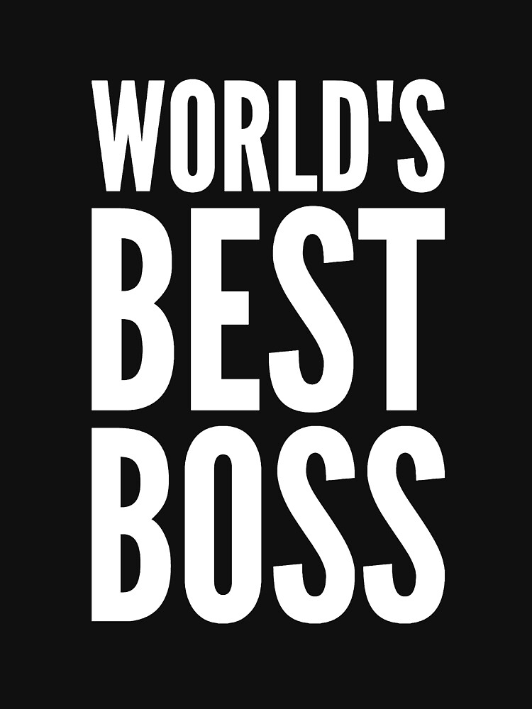 World's best boss by alexmichel91