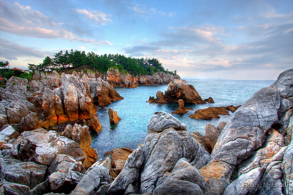 Chuam Beach, South Korea by Bobby McLeod