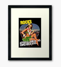After Sex and Drugs Framed Print