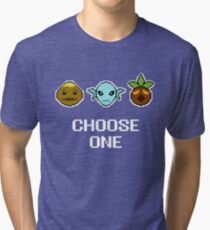 Choose One Mask Tri-blend T-Shirt