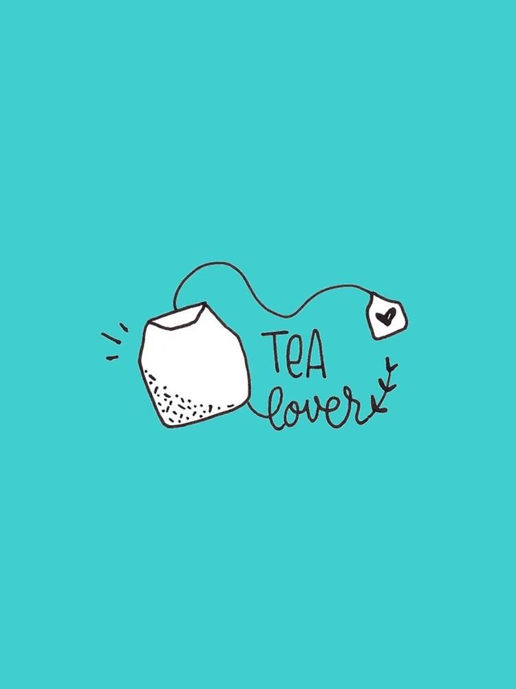 Tea Lover - Minimalist drawing by mirunasfia