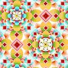 Groovy Deco Geometric by PatriciaSheaArt
