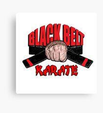 Black Belt Canvas Print