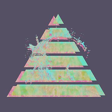 Pirámide de Vaporwave de Alheak