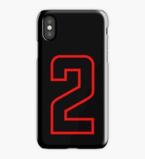 Number 2 (1-99) iPhone Case/Skin