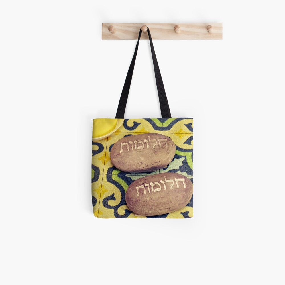 Hebrew Dreams  Tote Bag