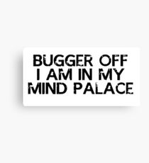 I need to go to my mind palace Canvas Print