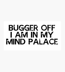 I need to go to my mind palace Photographic Print