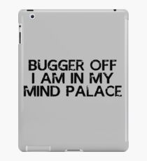 I need to go to my mind palace iPad Case/Skin