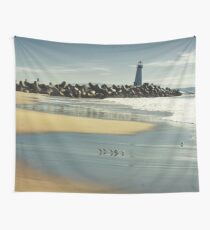 Santa Cruz lighthouse Wall Tapestry