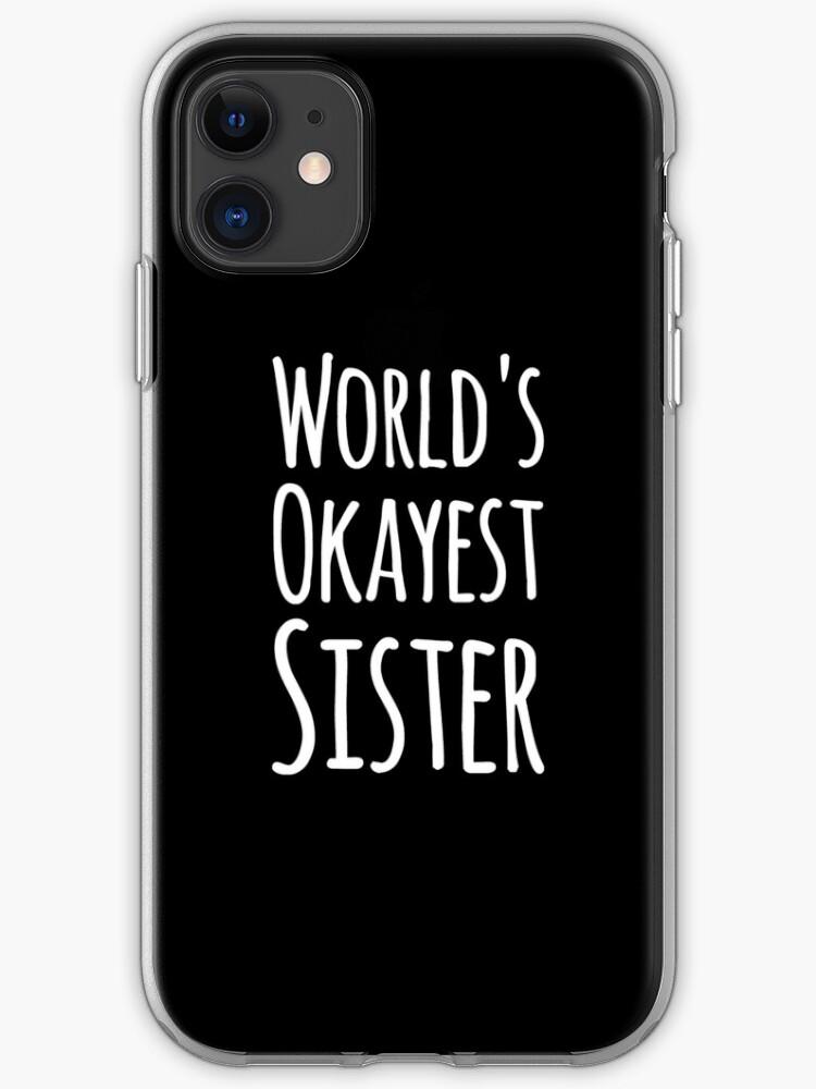La meilleure soeur du monde   Coque iPhone