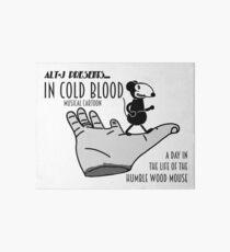 Vintage Wood Mouse 4 Art Board