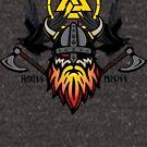 Odin with Huginn & Muninn by [original geek*] clothing