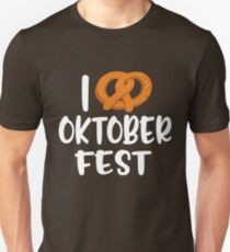 I love Oktoberfest Unisex T-Shirt