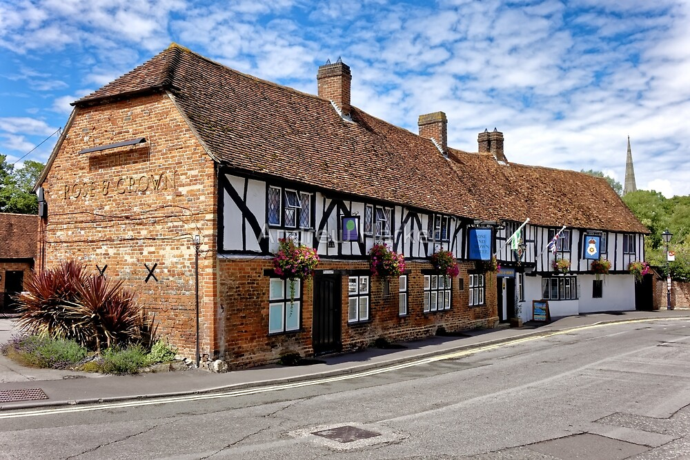 The Rose & Crown Hotel, Salisbury, Wiltshire, United Kingdom. by Andrew Harker