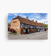 The Rose & Crown Hotel, Salisbury, Wiltshire, United Kingdom. Canvas Print