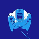 Dreamcast joystick blue version by E-Maniak