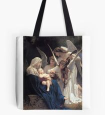 Angels with Jesus and Mary Tote Bag