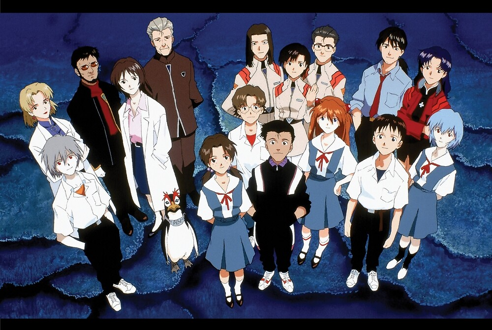 Evangelion Cast by 16TonPress