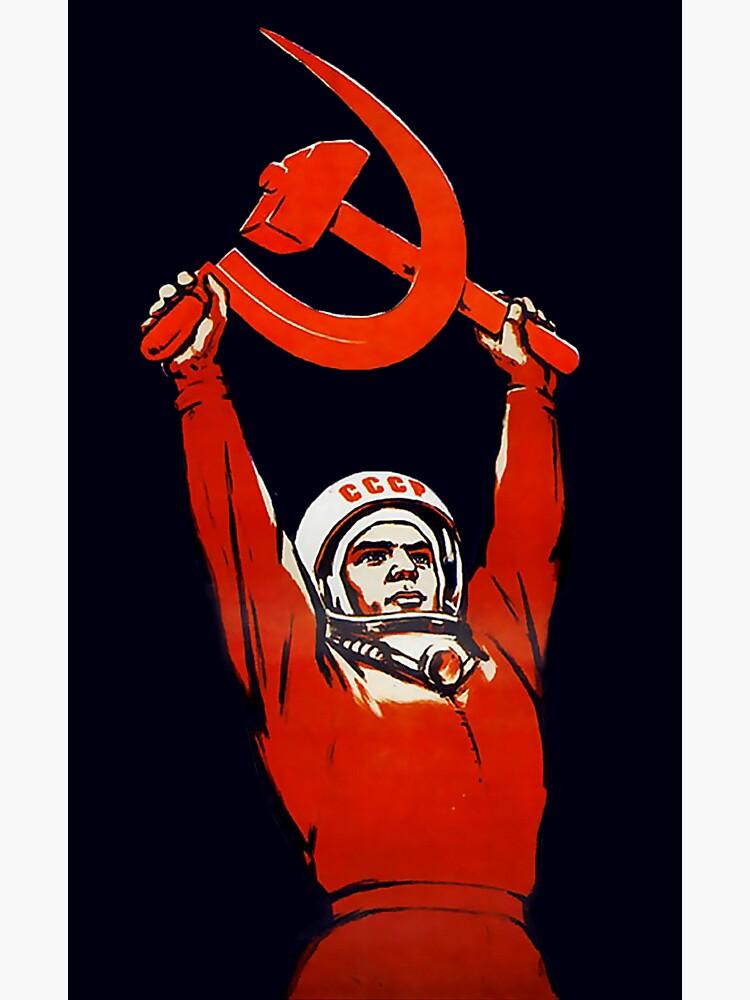Soviet Space Art - Cosmonauts:The Pioneers of Space! by dru1138