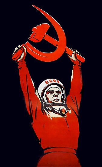 Sowjetische Weltraumkunst - Kosmonauten: Die Pioniere des Weltraums! von dru1138