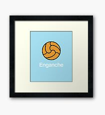 Proper Football - Enganche Framed Print