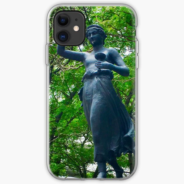 Dancing at the park  iPhone Soft Case