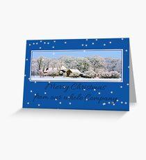 Business Christmas Card: Winter wonderland Greeting Card