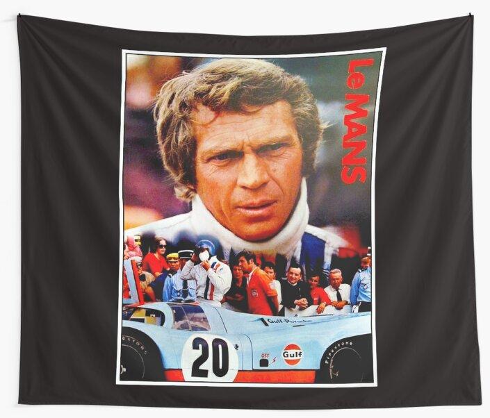 LE MANS; Vintage Grand Prix Auto Print by posterbobs