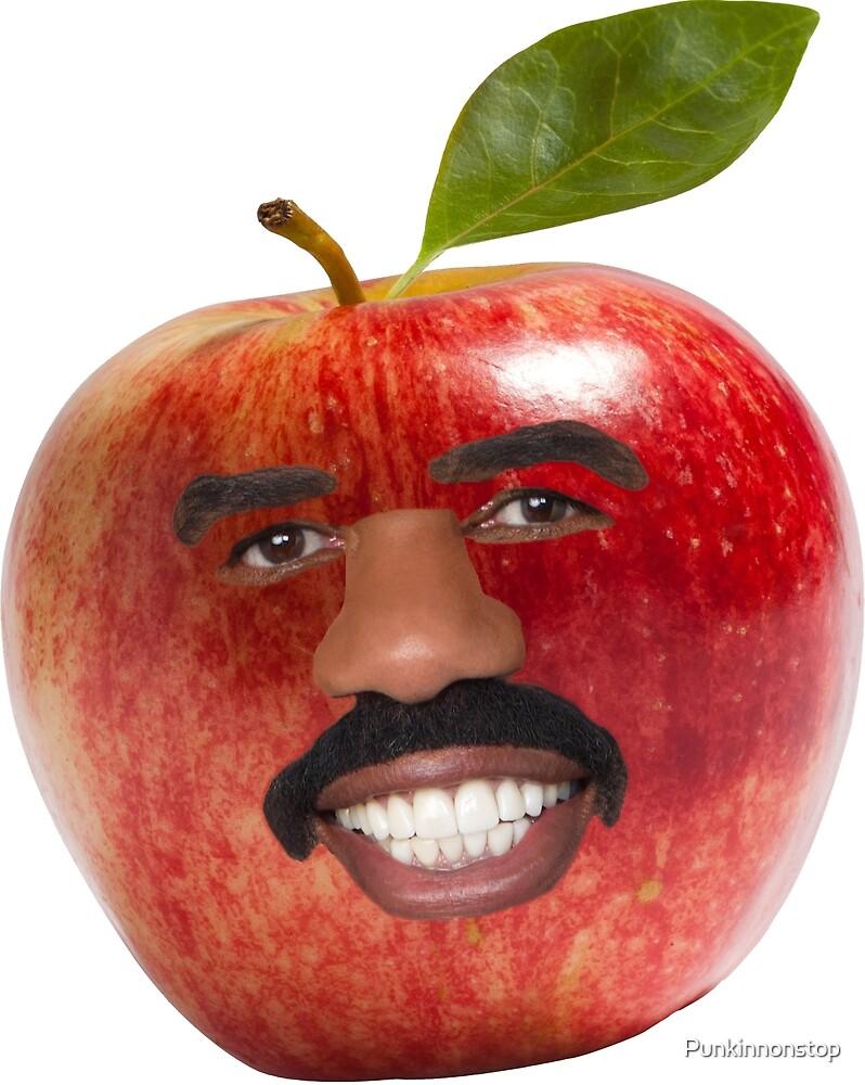 Steve Harvey as an Apple by Punkinnonstop