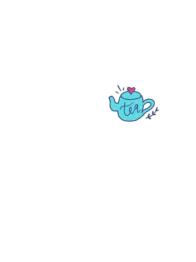 Tea Love - Pattern by mirunasfia