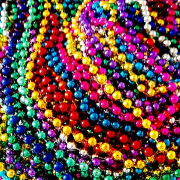 """MARDI GRAS BEADS"" Art Deco Print by posterbobs"