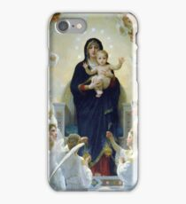 Angels Surrounded Jesus and Mary iPhone Case/Skin