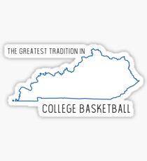 Kentucky Basketball Sticker
