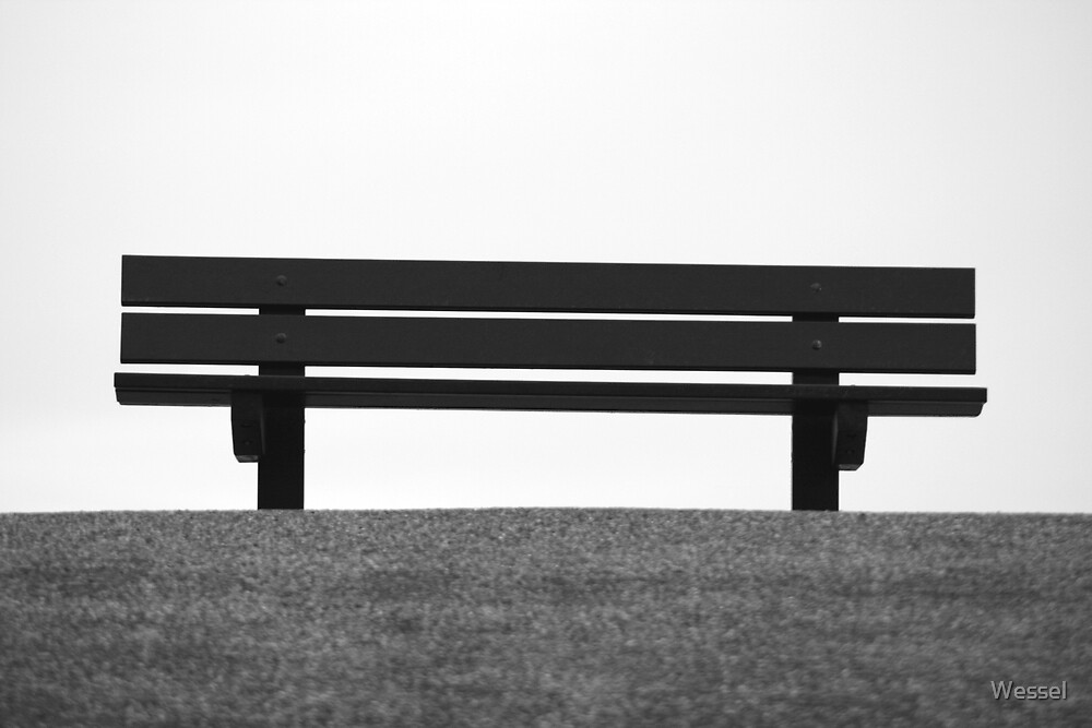Waiting for company by Wessel