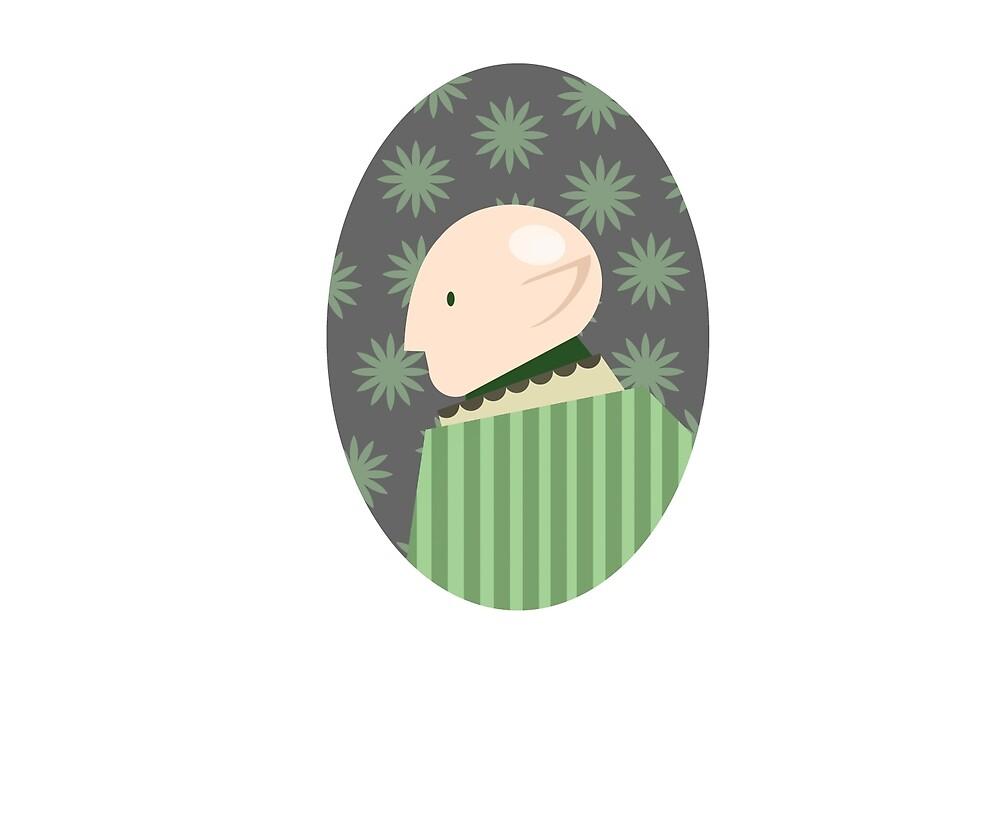 A cute, shining egg-Solas by PomeGrenade