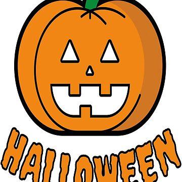 Pumpkin Halloween Costume T-Shirt Funny by drbr92