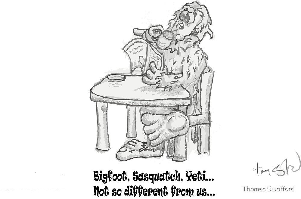 BigFoot!! by Thomas Swofford