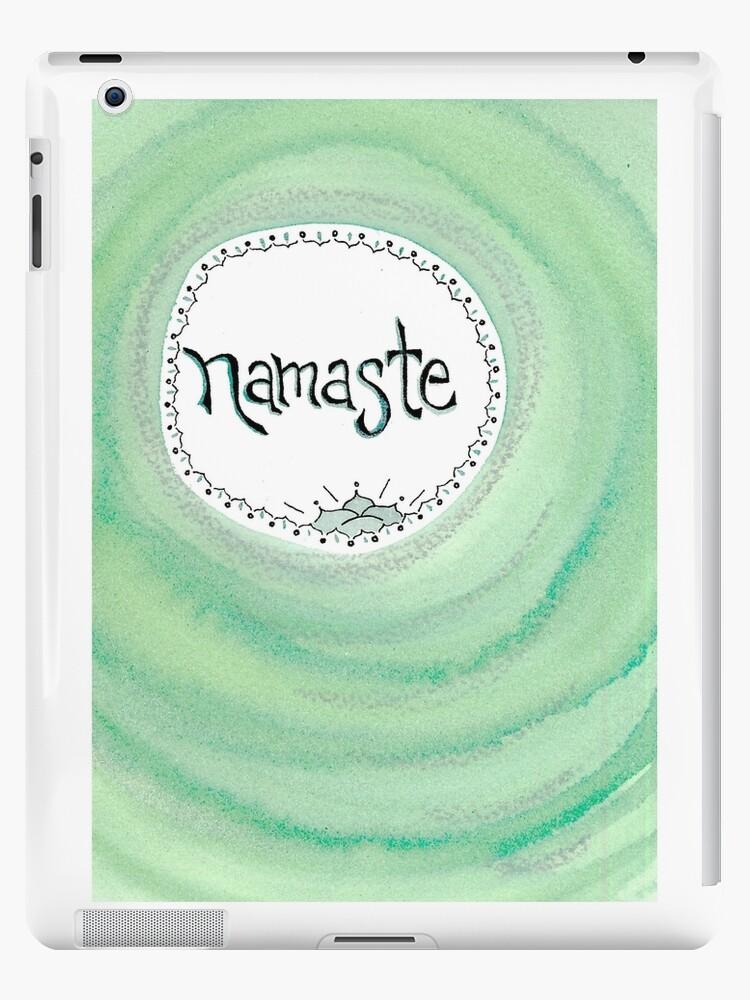 Namaste - aqua by lmkucera