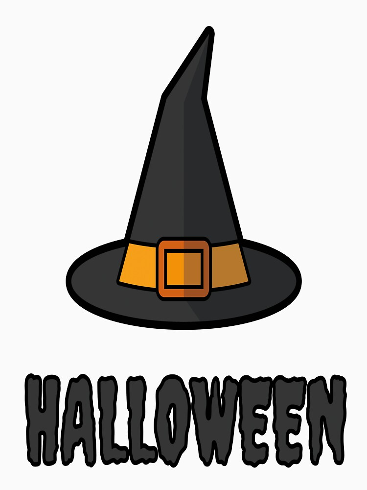 Funny Basic Witch Halloween T-Shirt by drbr92