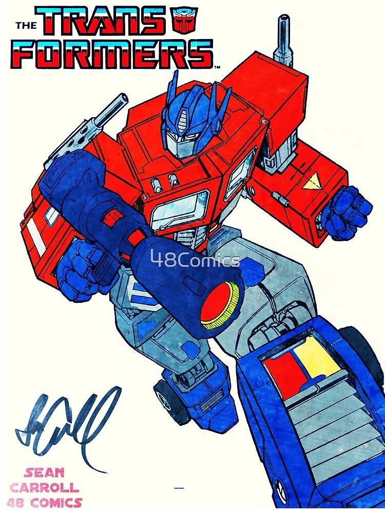 Optimus Prime  by 48Comics
