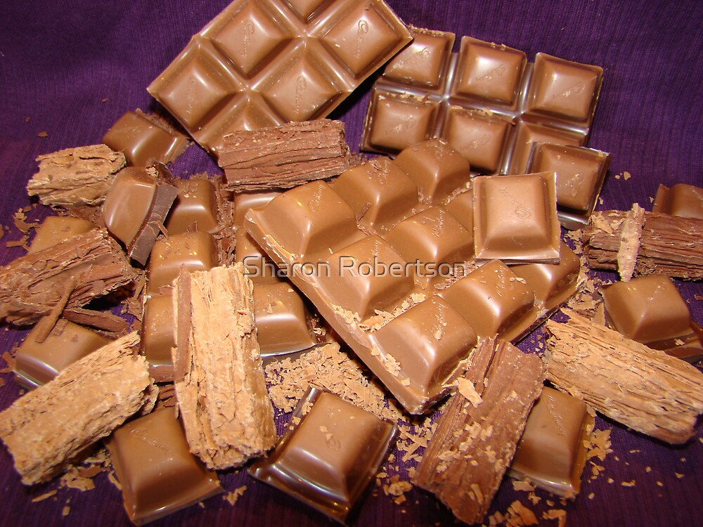 Chocolate Attack  by Sharon Robertson