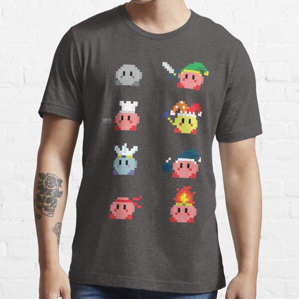 Transformaciones de Kirby Camiseta esencial