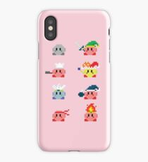 Kirby Transformations  iPhone Case