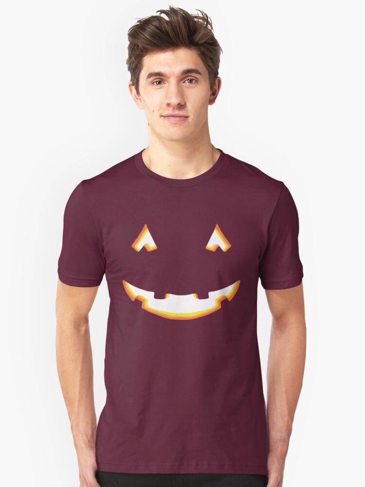 Halloween Pumpkin Unisex T-Shirt Front