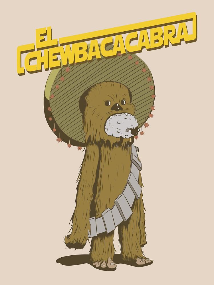 Chewbaccacabra by ProfBio