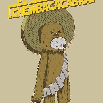 Chewbaccacabra by ProfBio
